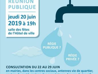 Réunion publique - 20 juin 2019 à 19h