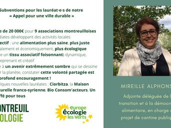 Appel pour une ville durable : 20 000 € au service d'une alimentation plus juste, plus écologique