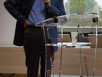 Jean Jouzel accueilli par Mireille Alphonse à Est Ensemble