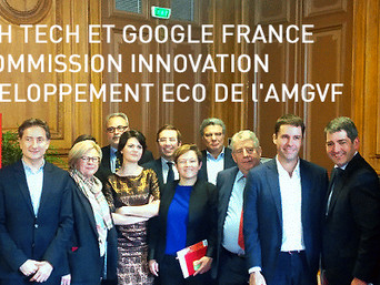 Numérique : Ibrahim Dufriche-soilihi à l'assemblée des Grandes Villes pour la French tech