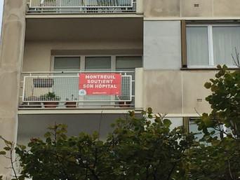Grande mobilisation des Montreuillois·es pour la défense de l'hôpital public