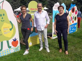La fête de la ville de Montreuil sur le thème de l'alimentation : un vrai succès !