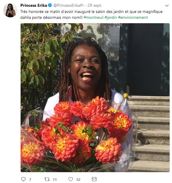 Princess Erika jardinage montreuil