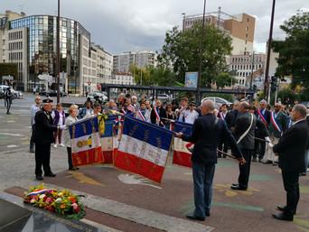 Commémoration du 75ème anniversaire de la libération de Montreuil