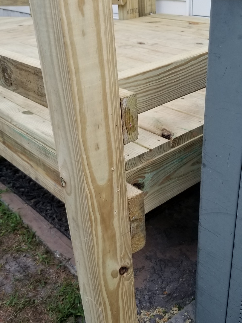 Quility wood ramp