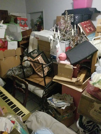 Decluttering, Organizing and storing project