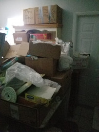 Hoarding cleaning project