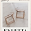 Thumbnail: Zoie Rhombus Earrings