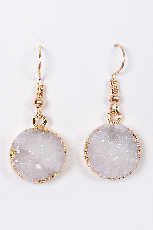 Ourea Druzy Stone Earrings