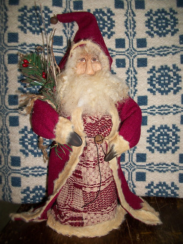 Tall Red Stand Up Santa
