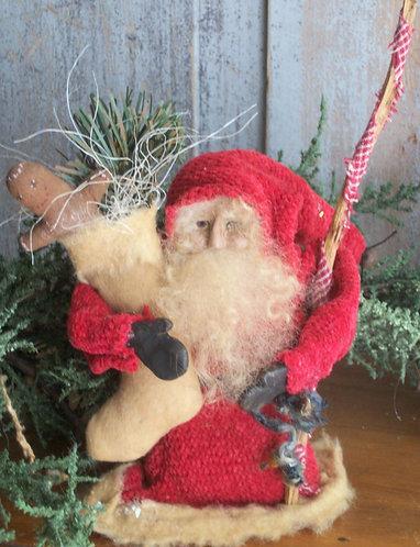 Santa w/ Gingerman