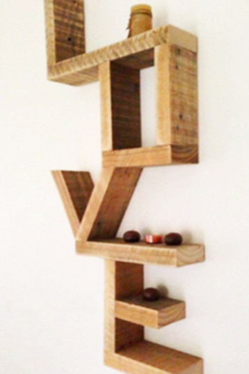 Love Wall Shelf