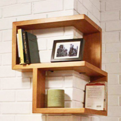 Turning Wall Shelf