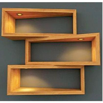 Abstract Wall Shelf