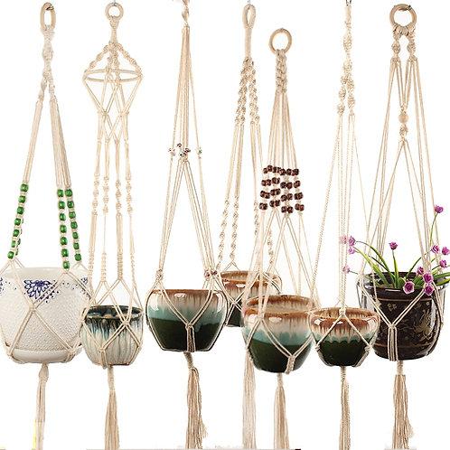 Handmade Macrame Plant Hanger Flower /Pot