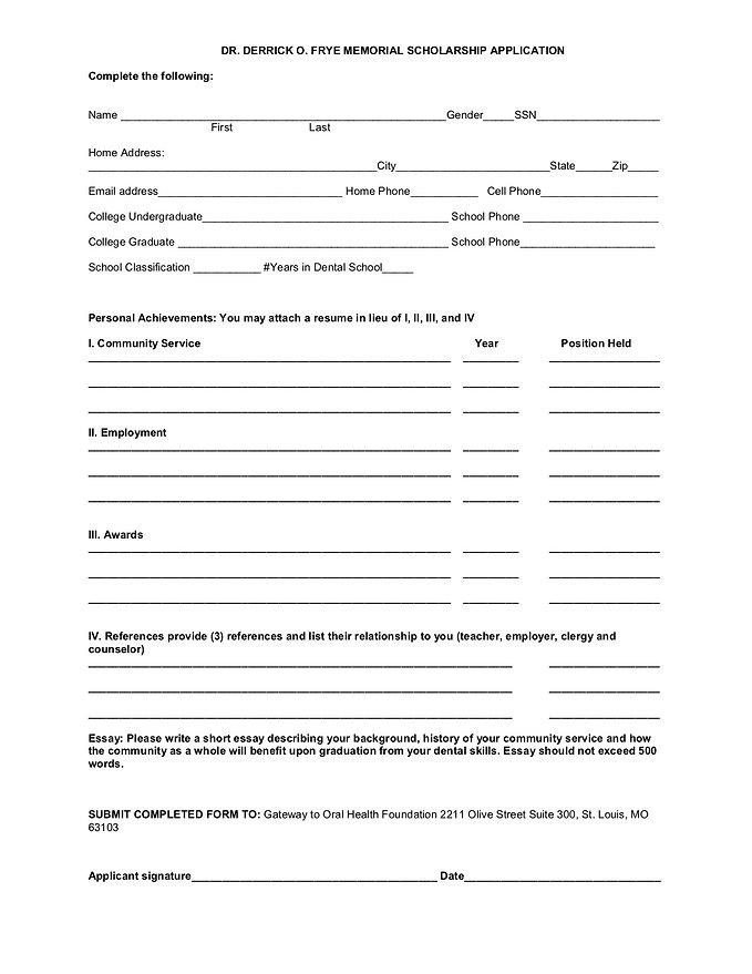 Derrick Frye Scholarship Application.jpg