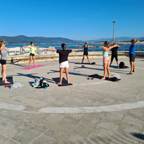 Pilates by the sea _ Fit&Sail