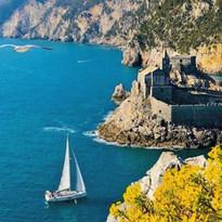 Sailing in Portofino