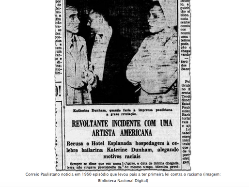 A primeira lei antirracismo do Brasil