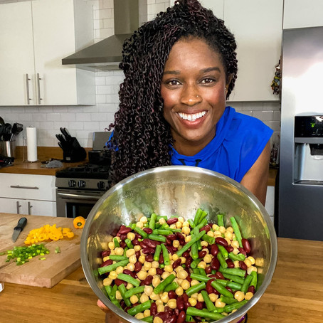 LIFE | Protein Packed Bean Salad
