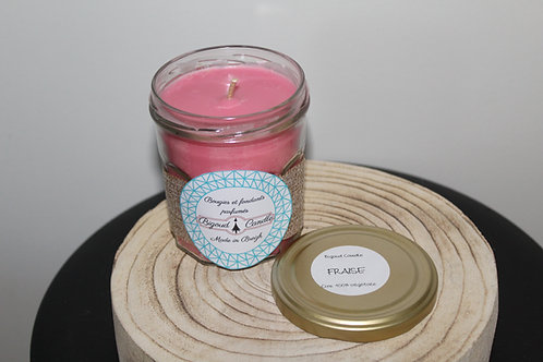 Bougie parfumée Fraise