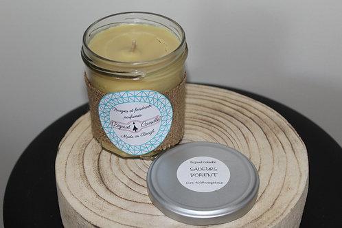Bougie parfumée Saveurs d'orient