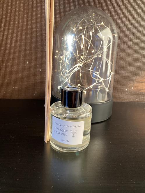 Diffuseur de parfum Framboise caramel 50 ml