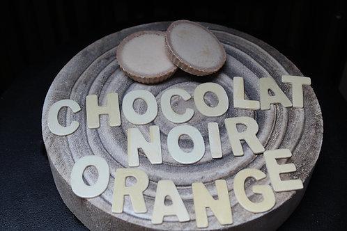 Fondant parfumé Chocolat noir et orange