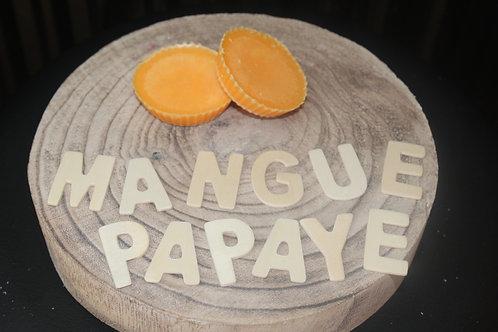 Fondant parfumé Mangue et papaye