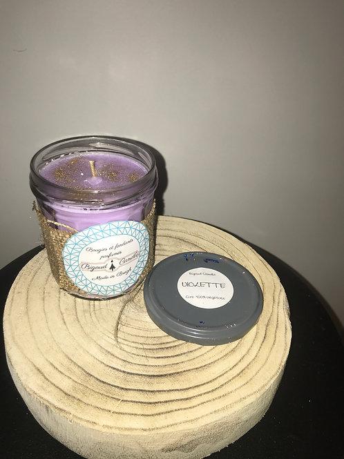 Bougie parfumée Violette des bois