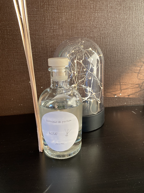 Diffuseur de parfum Rose 250 ml