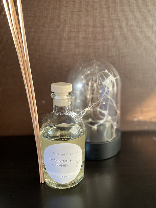 Diffuseur de parfum Framboise caramel 250 ml