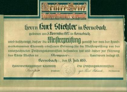 Nach Kriegsende konnte die Firma erfolgreich weitergeführt werden und blieb selbst nach der Zeit der Teilung Deutschlands in privater Hand.