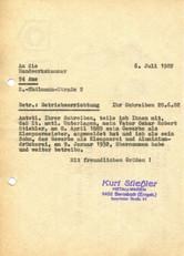 Im Jahre 1987 übergab Kurt Stiehler die Firma an seinen Sohn Klaus Stiehler. Noch im selben Jahr verstarb er.