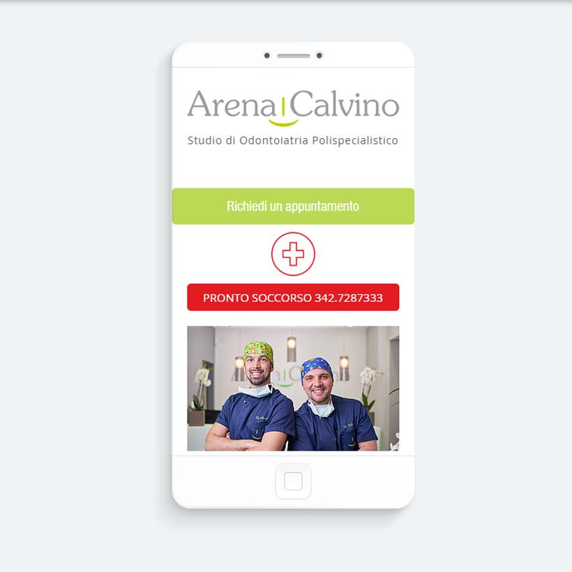 Il sito mobile Arena e Calvino