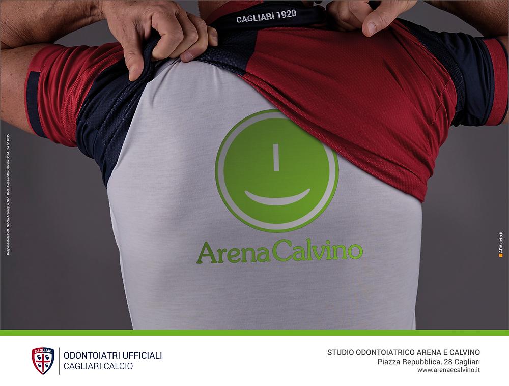 Odontoiatri Ufficiali del Cagliari Calcio | Arena e Calvino