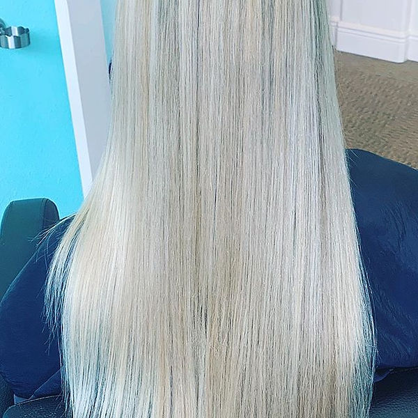 Tape-in Hair Extensions. Integrity of th