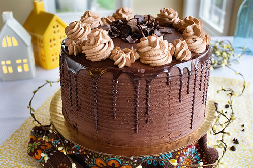 Triple Chocolate Tall Cake