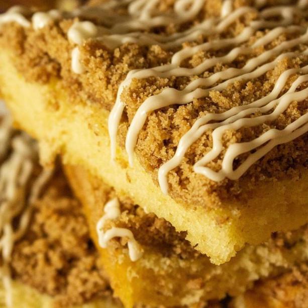 Cinnamon Coffee Crumb Cake