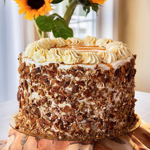 Carrot Caramel Pecan Tall Cake