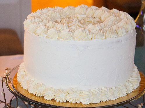 Simply Vanilla Tall Cake