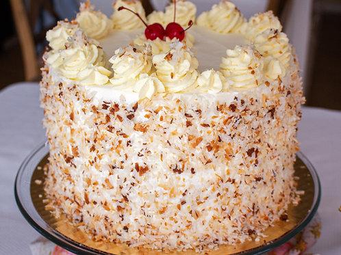 Pineapple Coconut Tall Cake