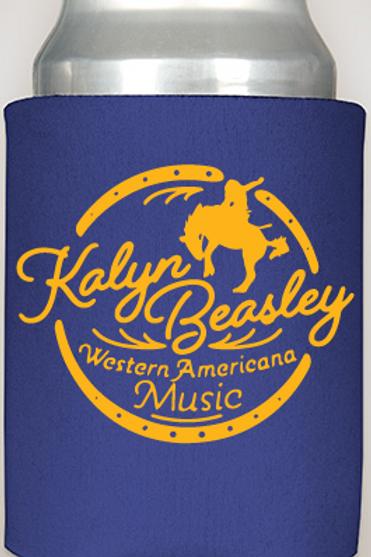 Kalyn Beasley Western Americana Music Koozie