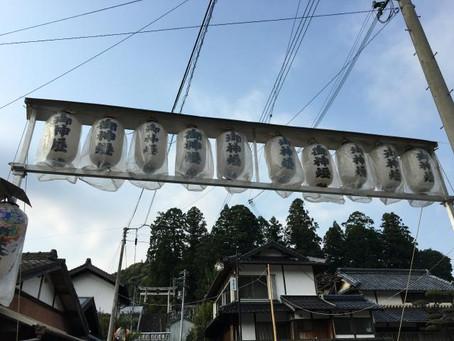 清水八幡神社の祭り・・・