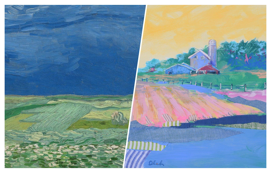 Vincent Van Gogh + Karin Olah