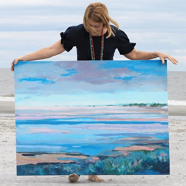 Take your art to the beach