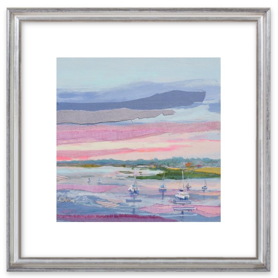 Karin Olah prints at ArtfullyWalls.com, Plum Sunrise