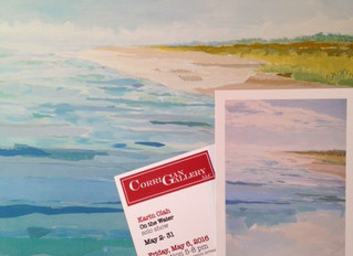 On the Water - Solo Show at Corrigan Gallery