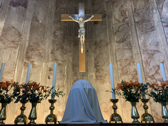 The Tabernacle + Crucifix