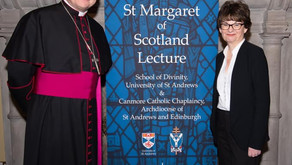 ST MARGARET OF SCOTLAND LECTURE SERIES & HOLY MASS IN ST SALVATOR'S CHAPEL: 19 FEBRUARY 2020